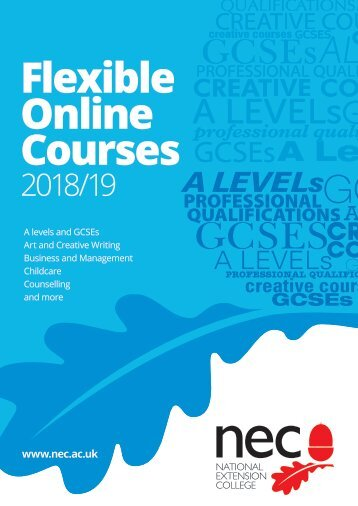 NEC Guide to Courses 2018-2019