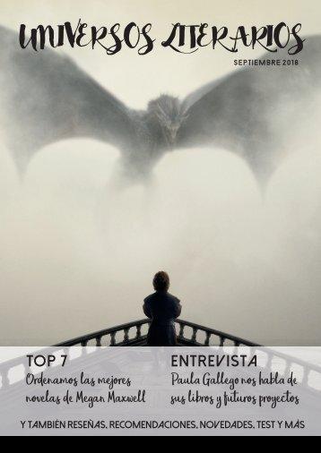 Universos Literarios Septiembre 2018