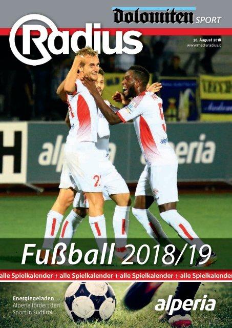 Radius Fussball 2018