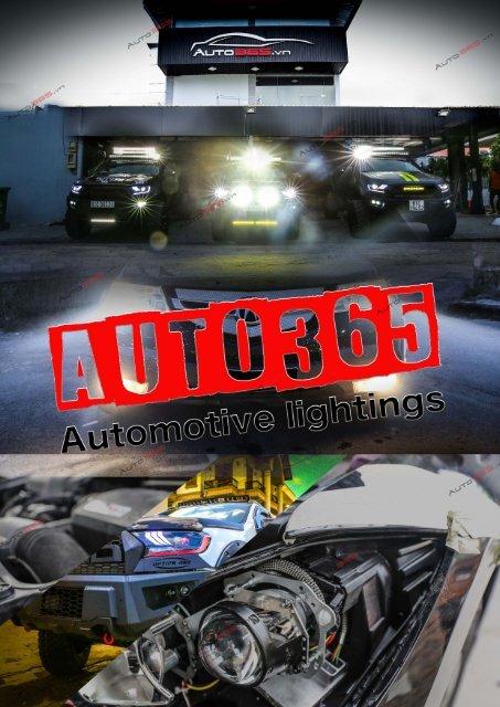 Auto365.vn Catalogue Độ Đèn 2018 - Vol.01