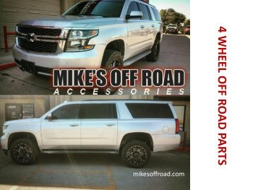 4 Wheel off Road Parts | Mike's Off Road Accessories