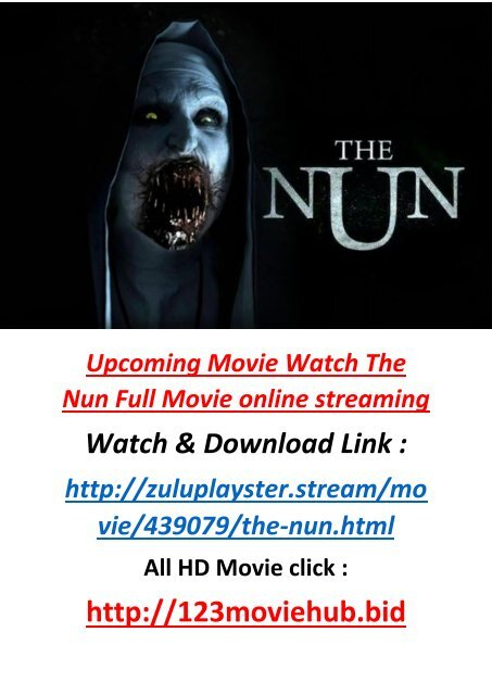 RORHOROR WATCH THE NUN FULL MOVIE ONLINE FREE 850MB DOWNLOAD-STREAM