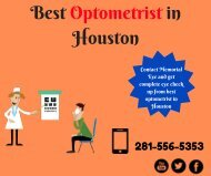 Best Optometrist in Houston