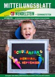 Wendelstein + Schwanstetten - September 2018