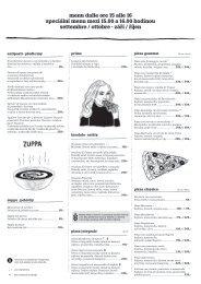 siesta menu, září–říjen