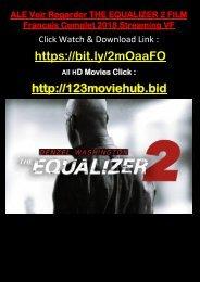 1080HD VOIR THE EQUALIZER 2 Streaming VF Complet Film Gratuit En Francais ( Regarder Telecharger )