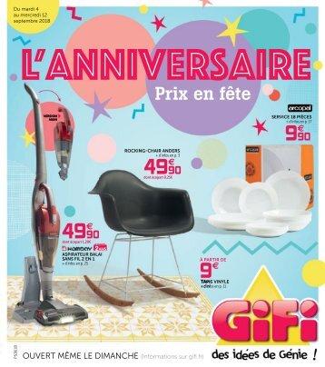 GiFi catalogue 4 septembre-12 septembre 2018