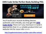 DXN Code Strike Body Building Pills