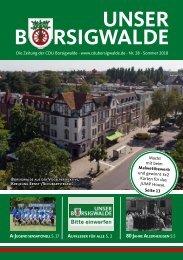 Unser Borsigwalde (Sommer 2018)