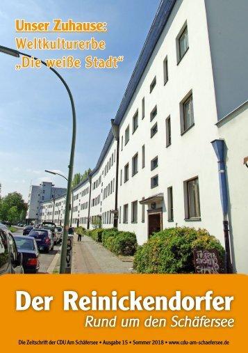 Der Reinickendorfer 15 (Sommer 2018)
