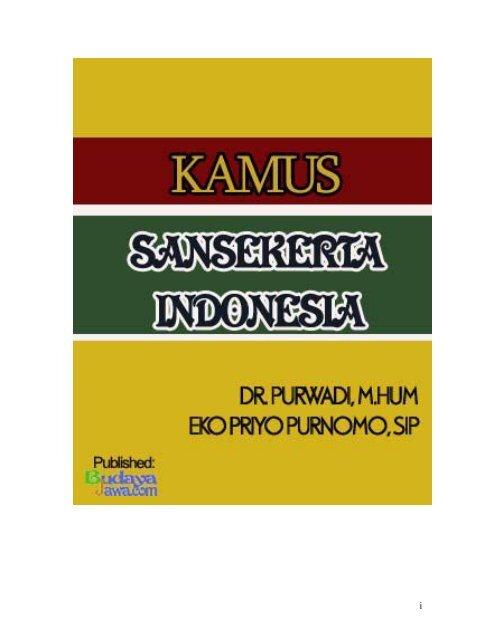 Kamus Bahasa Sansekerta1