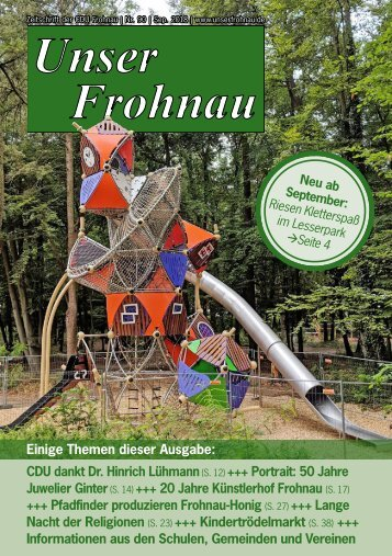 Unser Frohnau 90 (September 2018)