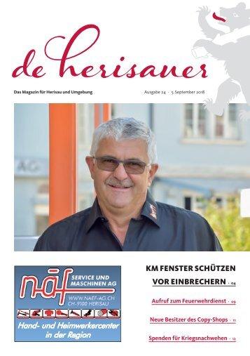 deHerisauer Ausgabe 24/2018