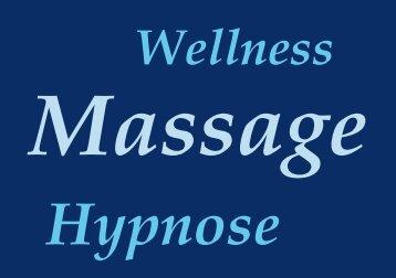 Massage Broschüre