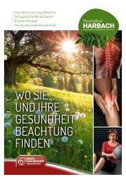 Behandlungsschwerpunkte Moorheilbad Harbach
