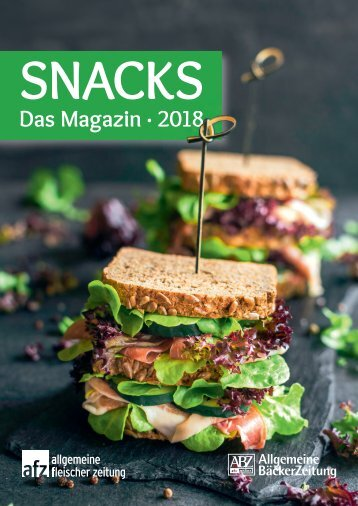 SNACKS - Das Magazin 2018