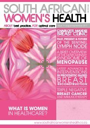 South African Women's Health - August 2018