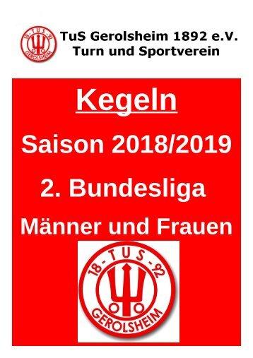 TuS Gerolsheim 2. Bundesliga 2018-19