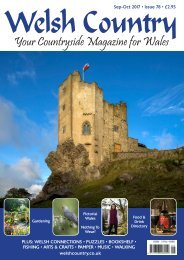Welsh Country Magazine Sept-Oct 2017