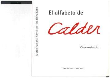 El Alfabeto Calder