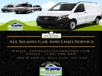 Limo Service To Macarthur Airport