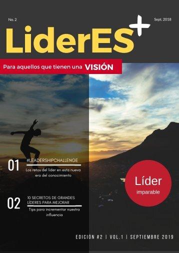 RevistaLíderES+  Edición No.2