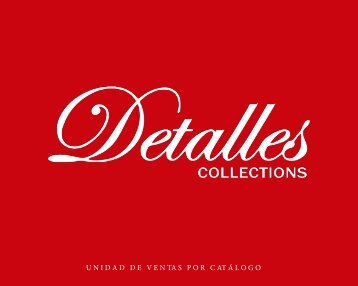 Manual DETALLES COLLECTIONS