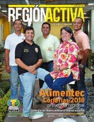 REVISTA REGIÓN ACTIVA EDICIÓN 9 - MAYO 2018