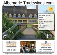 Albemarle Tradewinds September 2018 OPT