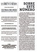 La Sirena Varada: Año II, Número 10 - Page 2