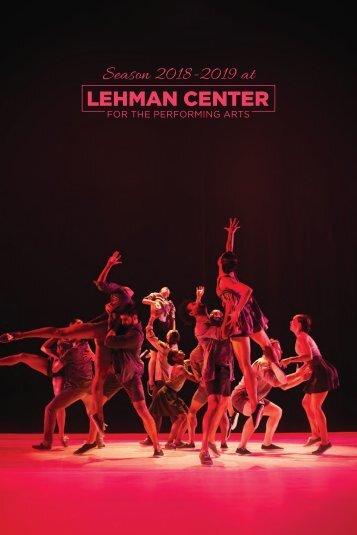 Lehman-Center-2018-2019-Brochure
