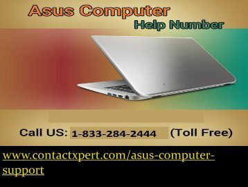Straightforward 1-833-284-2444 Resolve Issue  Asus Computer Support  Phone Number