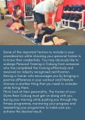Important Things to Consider While Choosing a Personal Trainer - Page 3