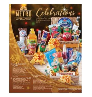Metro Celebrations Catalog 2018
