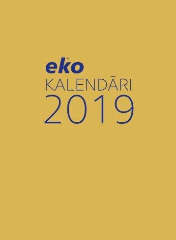 Kalendāri 2019