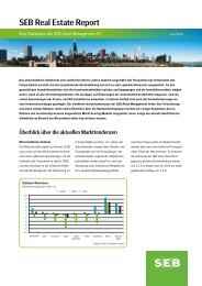 SEB Real Estate Report (PDF) - SEB Asset Management