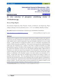In vitro selection of phosphate solubilizing strains of Trichoderma spp.