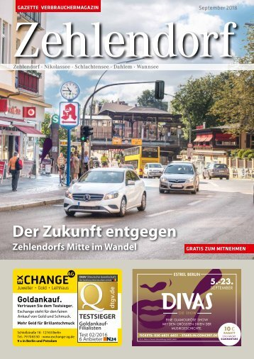 Gazette Zehlendorf September 2018