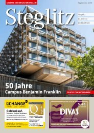 Gazette Steglitz September 2018