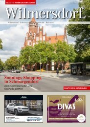 Gazette Wilmersdorf September 2018