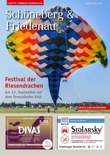 Gazette Schöneberg & Friedenau September 2018