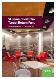 SEB ImmoPortfolio Target Return Fund - SEB Asset Management