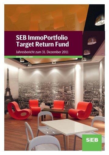 SEB ImmoPortfolio Target Return Fund - SEB Asset Management