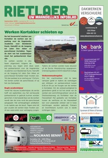 1835 Rietlaer - 1 september 2018 - week 35