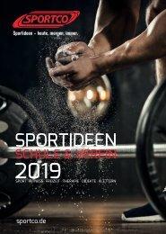 SPORTCO Gesamtkatalog 2018/2019 - Schule & Verein