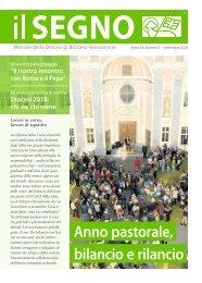 l Segno - Mensile della Diocesi die Bolzano-Bressanone - Anno 54, numero 5, agosto 2018