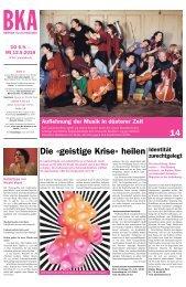 Berner Kulturagenda N°35