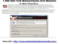 1-888-489-7936 Malwarebytes Anti Malware is Not Opening