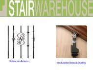 Iron balusters For Sale