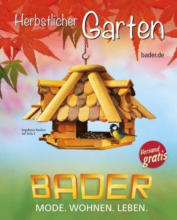 BADER  Herbstlicher-Garten Autumn 2018